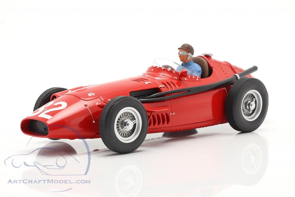 Set: Maserati 250F #32 Monaco GP Weltmeister F1 1957 mit Fahrerfigur  CMR