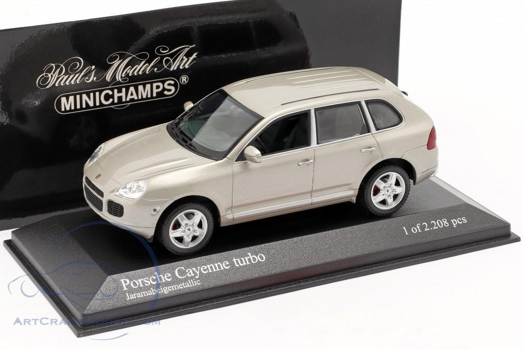 Porsche Cayenne Turbo Year 2002 beige