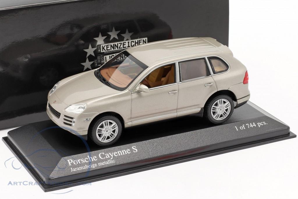 Porsche Cayenne S Year 2007 beige