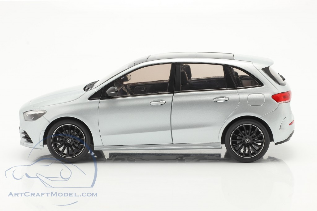 Mercedes-Benz B class (W247) year 2018 iridium silver