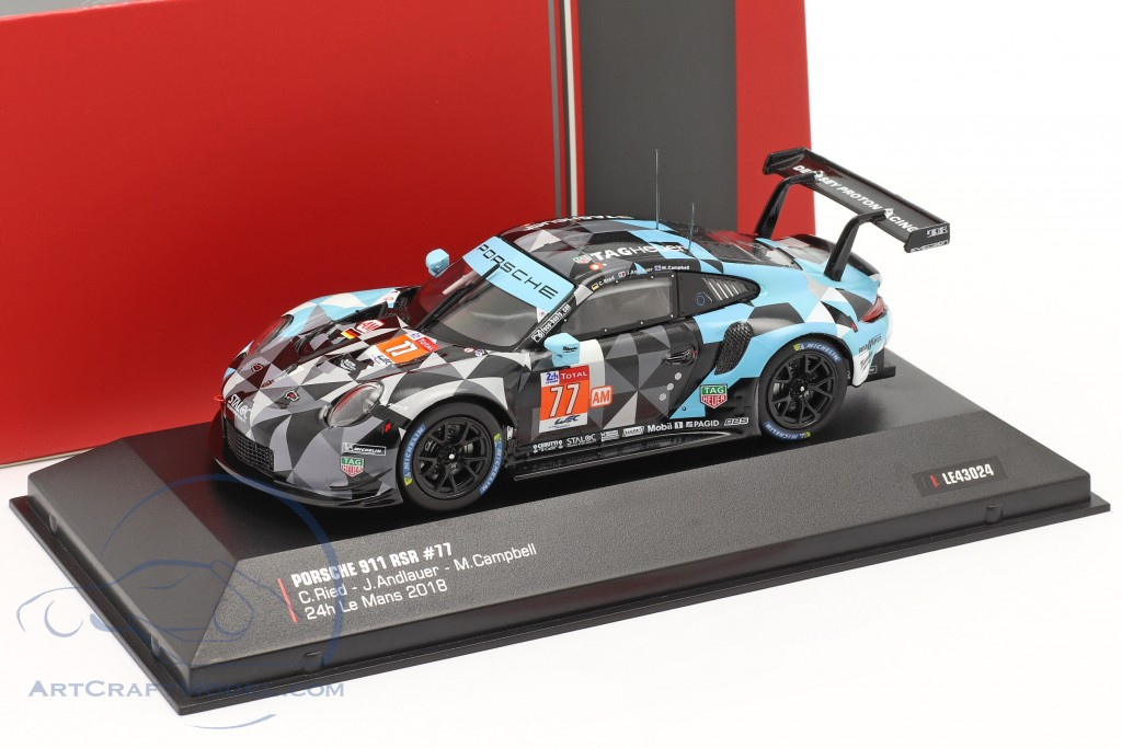 Porsche 911 (991) RSR #77 Winner LMGTE Am 24h LeMans 2018