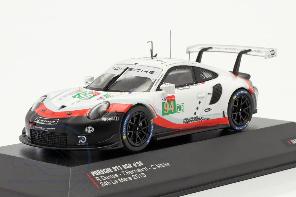 Porsche 911 (991) RSR #94 24h LeMans 2018 Porsche GT Team