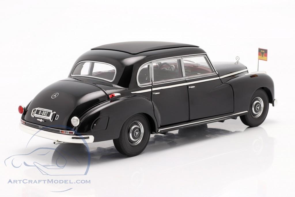 Konrad Adenauer Mercedes-Benz Typ 300 (W186) black