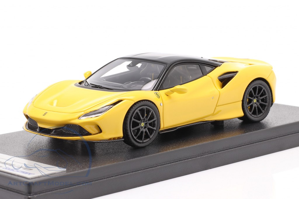 Ferrari F8 Tributo year 2019 modena yellow / black