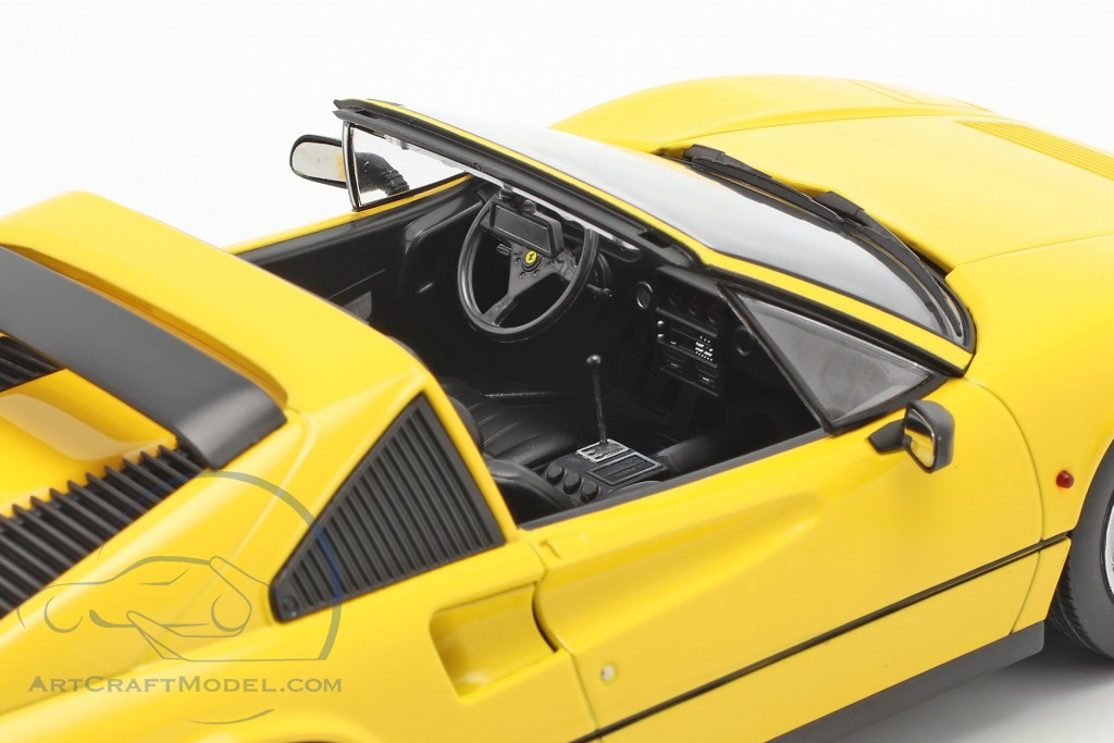 Ferrari 328 GTS year 1985 yellow