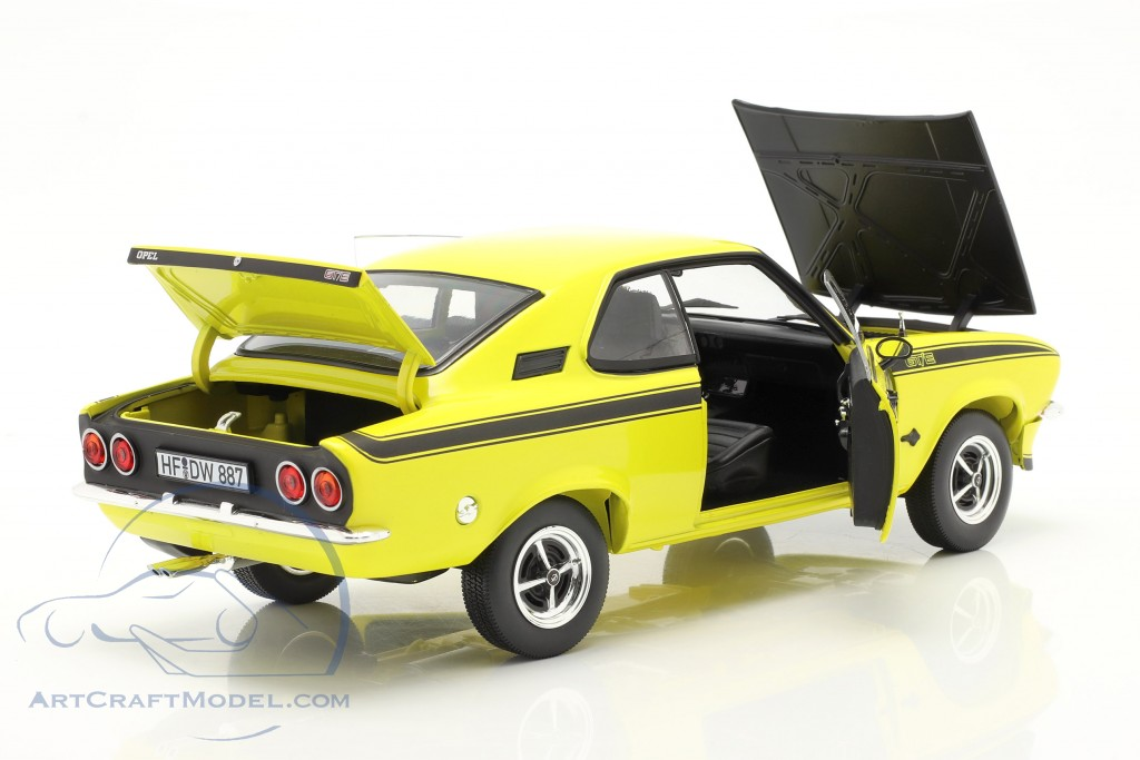 Opel Manta GT/E year 1975 yellow / black