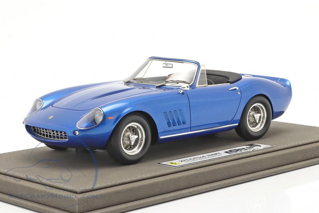 Ferrari 275 GTS/4 NART Steve McQueen 1967 blue metallic  BBR