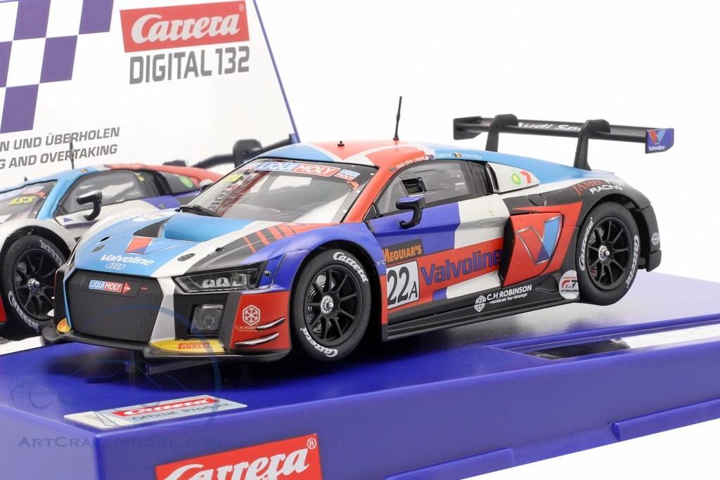 Digital 132 SlotCar Audi R8 LMS #22A Team Valvoline