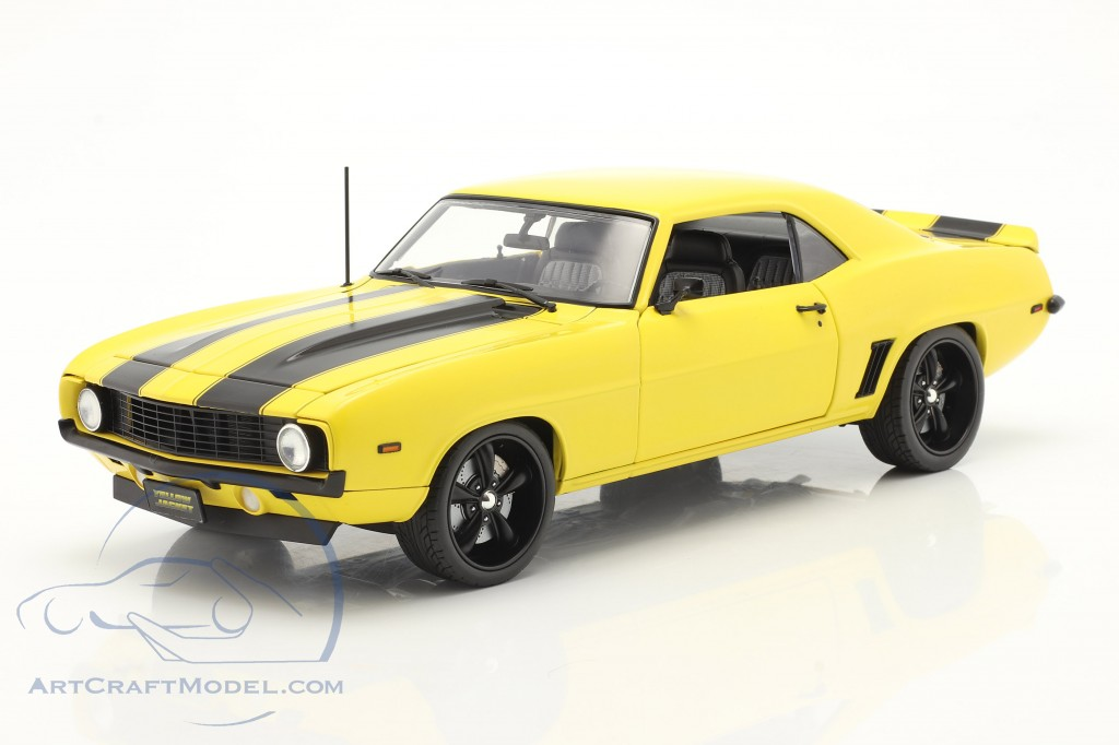 Chevrolet Camaro Z/28 Yellow Jacket 1969 yellow