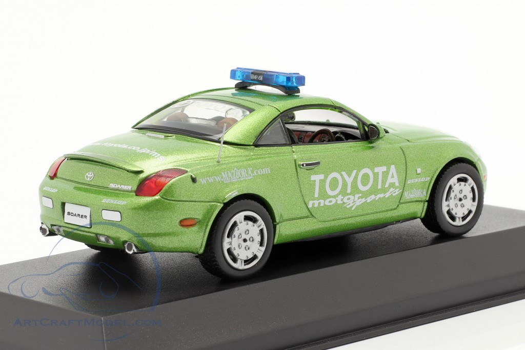 Toyota Soarer Toyota Motorsports Safety Car 2004 green