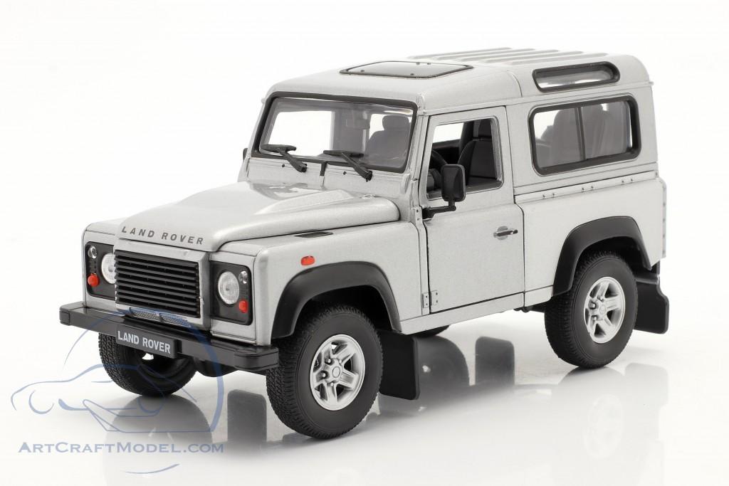 Land Rover Defender silver