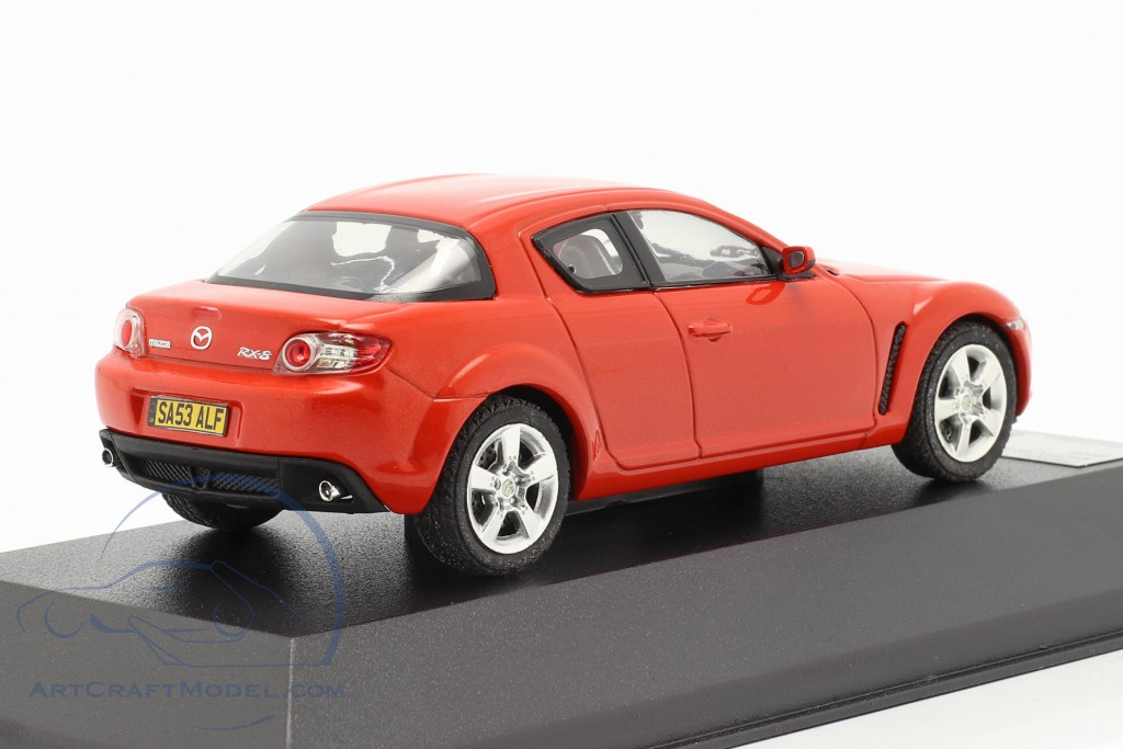 Mazda RX-8 Year 2003 red