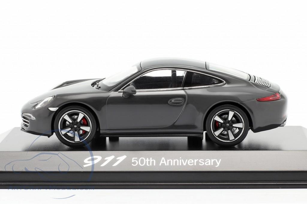 Porsche 911 (991) gray 50 Years Porsche 911 Edition
