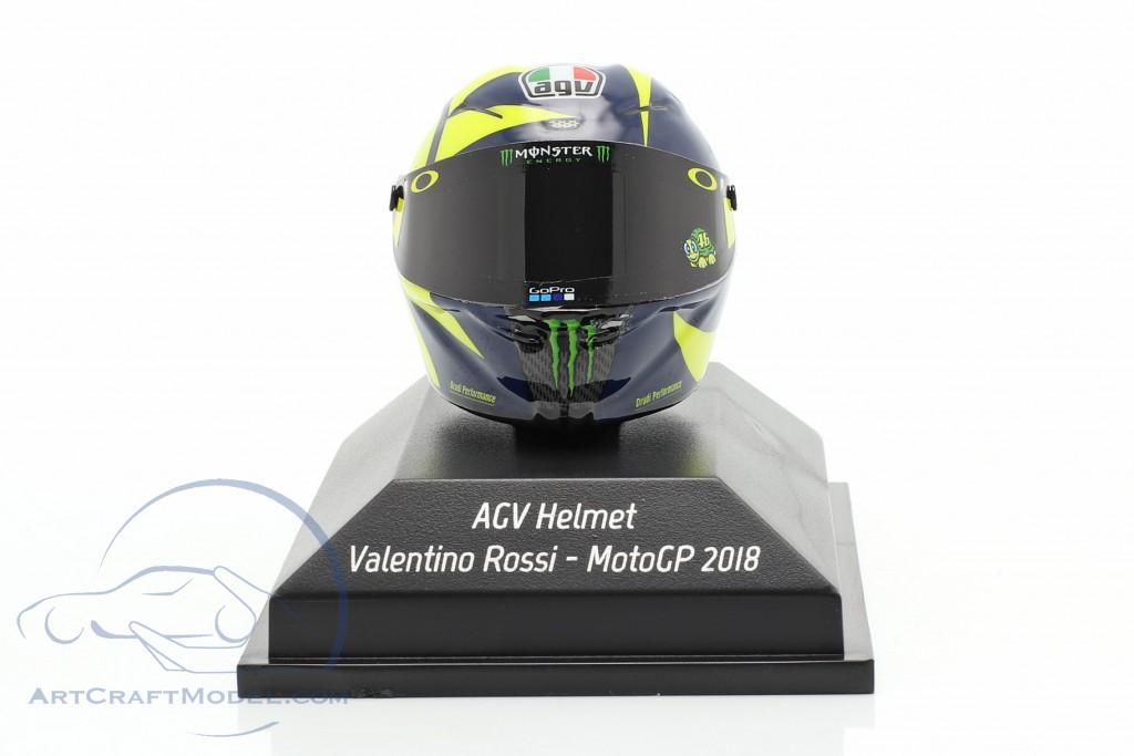 Valentino Rossi MotoGP 2018 AGV helmet