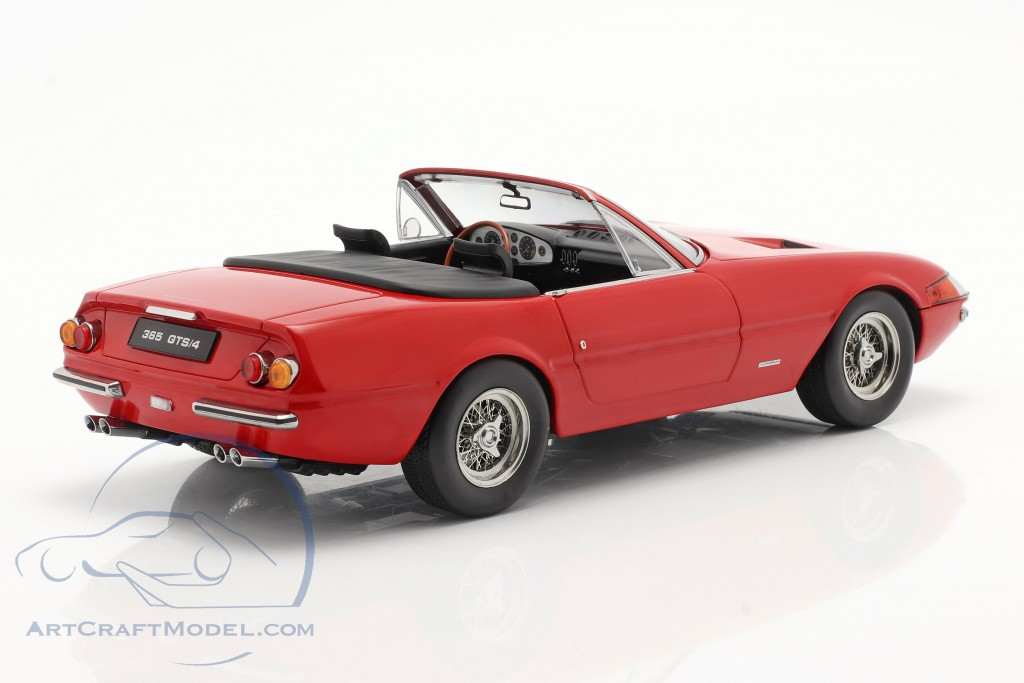 Ferrari 365 GTB/4 Daytona Convertible Series 1 1969 red