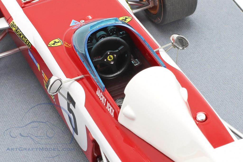 Jacky Ickx Ferrari 312B2 #5 South African GP formula 1 1972