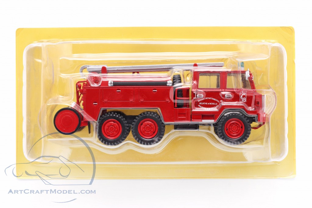 Berliet FF 6x6 fire Department SDIS Meurthe et Moselle red