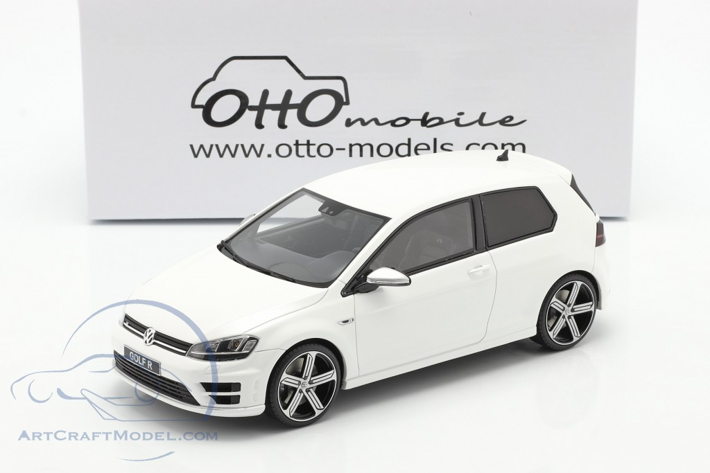 Volkswagen VW Golf VII R year 2014 white  OttOmobile