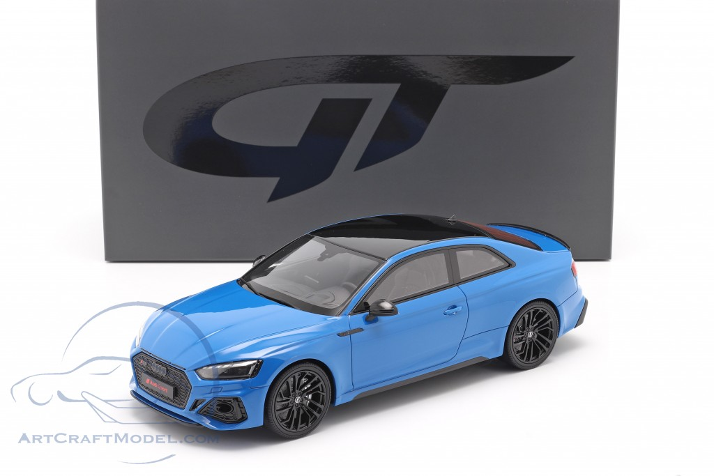 Audi RS 5 Coupe year 2020 turbo blue  GT-Spirit
