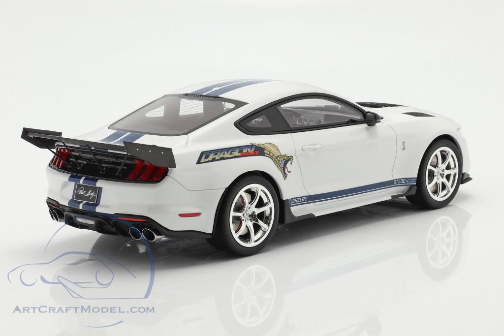 Ford Mustang Shelby GT500 Dragon Snake 2020 Oxford white  GT-Spirit
