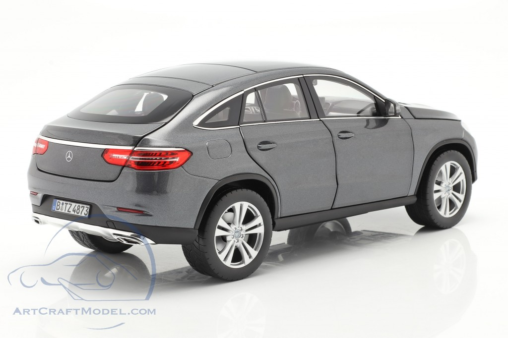 Mercedes-Benz GLE Coupe year 2015 grey metallic