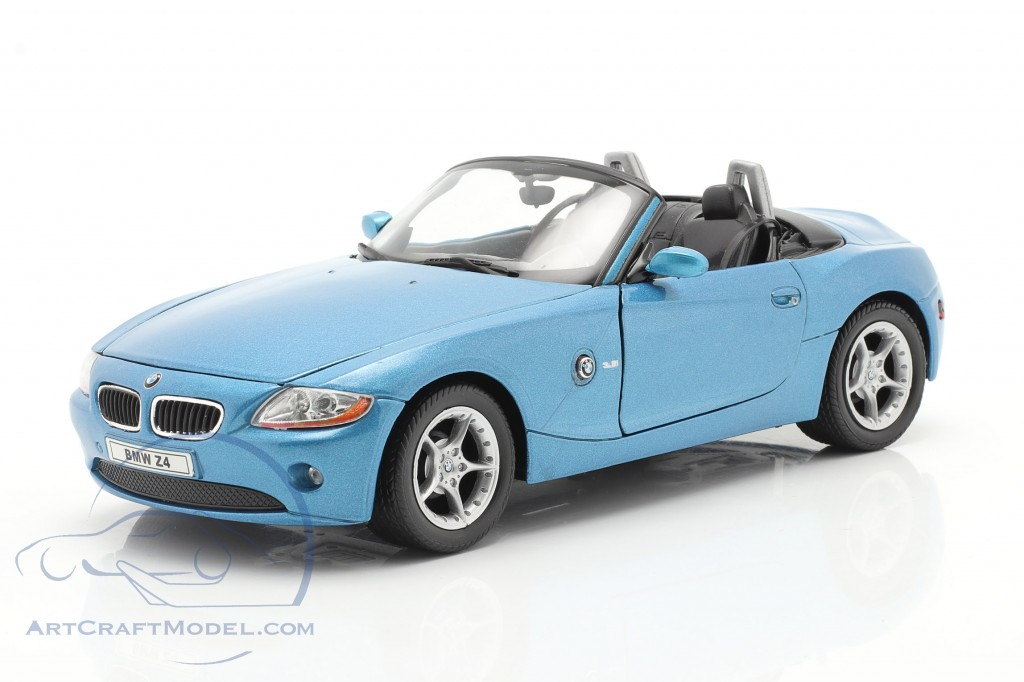 BMW Z4 year 2009 blue metallic