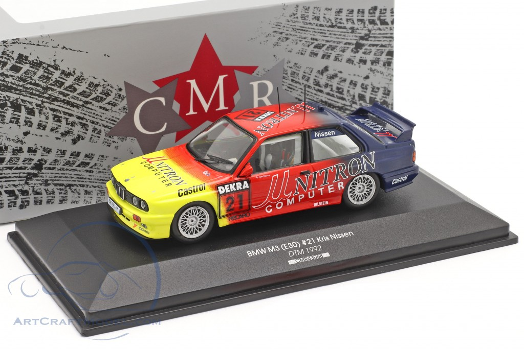 BMW M3 (E30) Unitron #21 DTM 1992 Kris Nissen