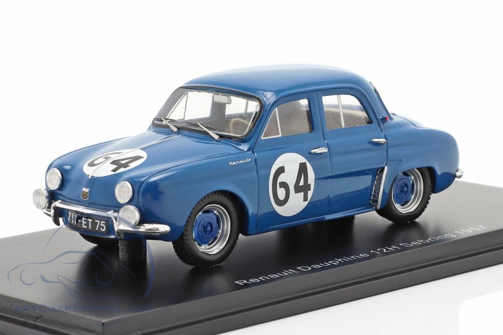 Renault Dauphine #64 Winner T1.0 class 12h Sebring 1957
