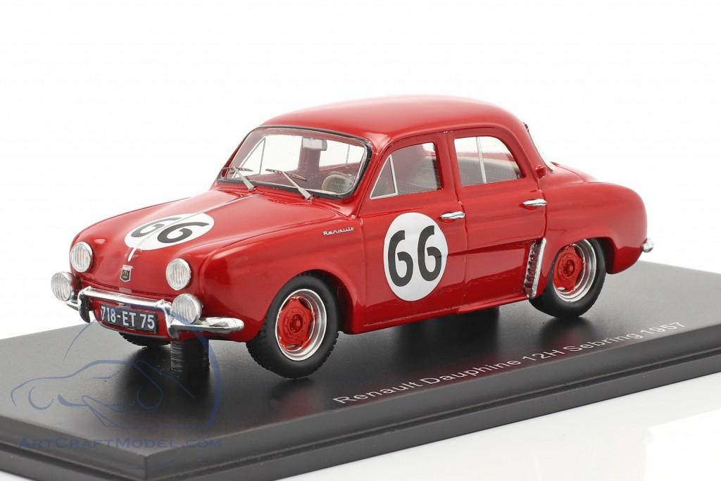 Renault Dauphine #66 12h Sebring 1957 Frere, Lucas