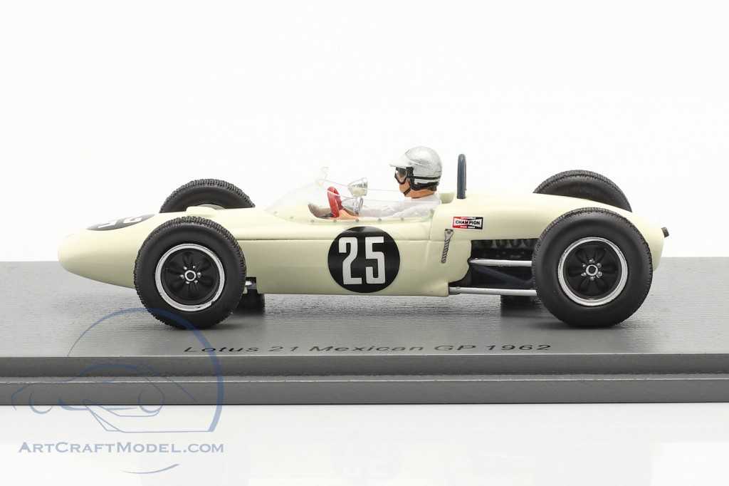 Jim Hall Lotus 21 #25 Mexican GP 1962