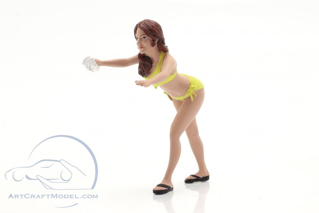 Bikini Car Wash Girl Stephanie figure