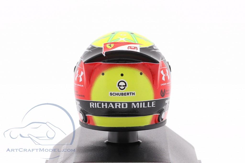 Mick Schumacher Prema Racing #9 formula 2 2019 helmet