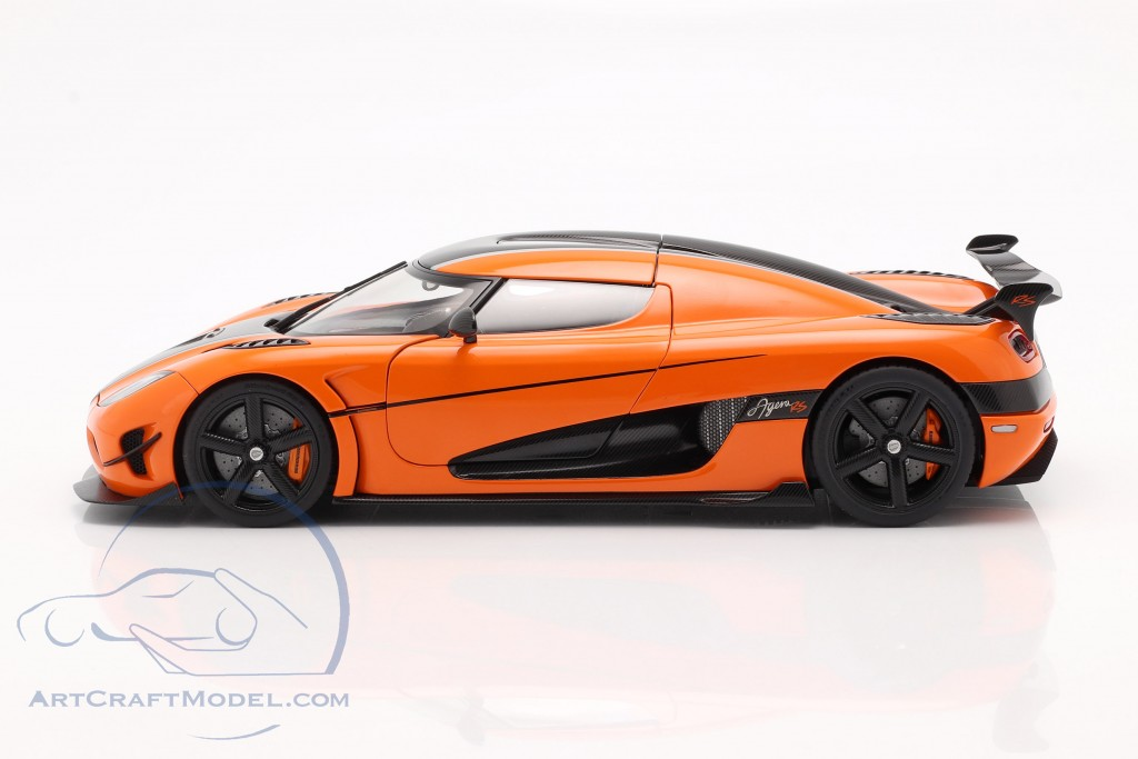Koenigsegg Agera RS year 2015 orange / carbon