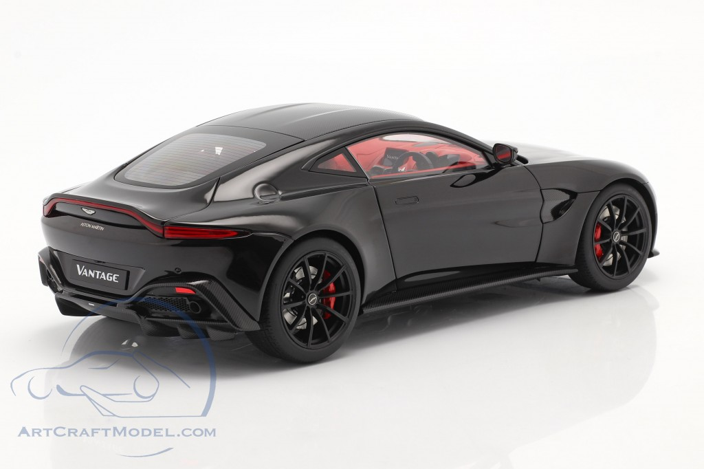 Aston Martin Vantage year 2019 black