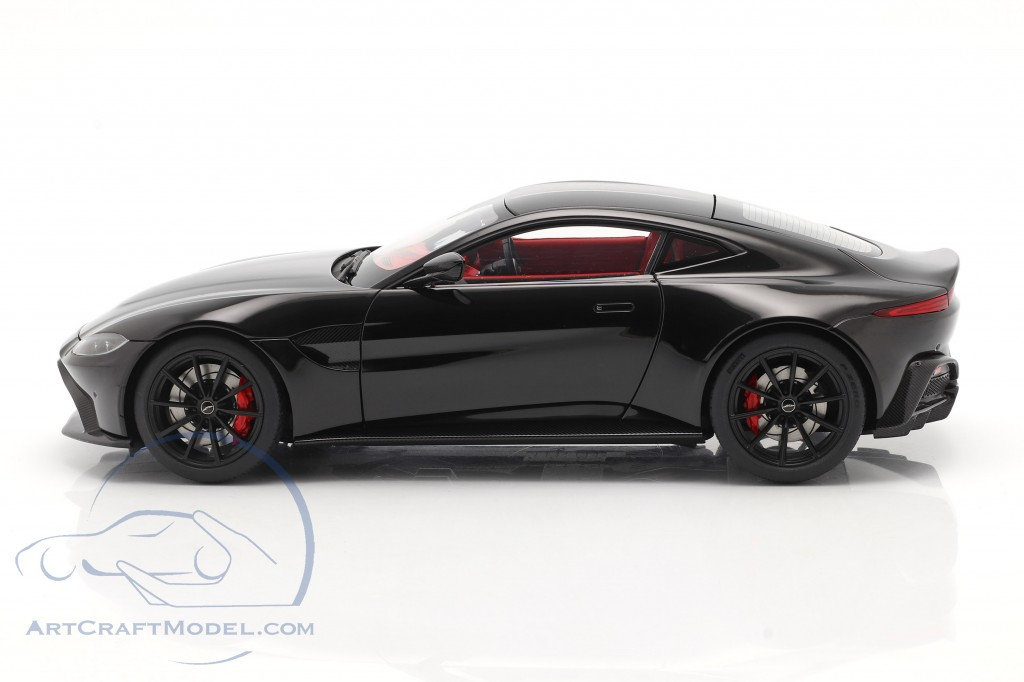 Aston Martin Vantage year 2019 black