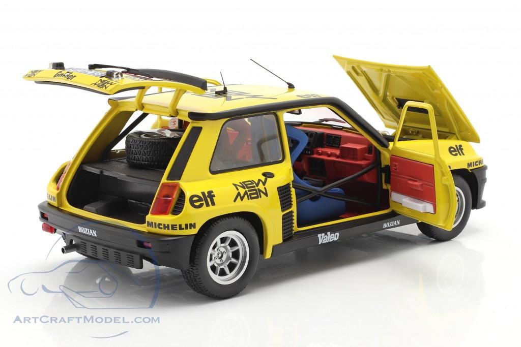 Renault 5 Turbo #9 5th Rallye Monte Carlo 1982 Saby, Sappey