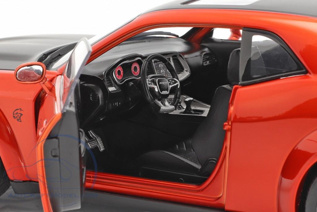 Dodge Challenger SRT Hellcat Redeye Widebody 2020 orange
