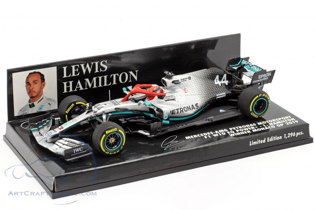 L. Hamilton Mercedes-AMG F1 W10 #44 Monaco GP F1 World Champion 2019