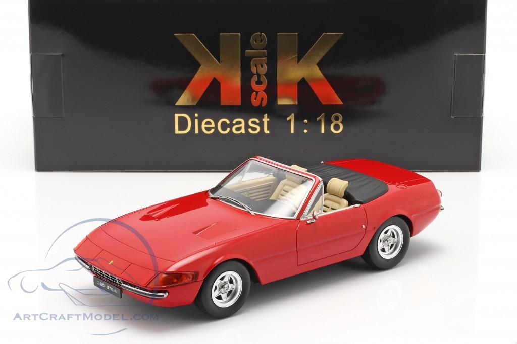 Ferrari 365 GTB/4 Daytona Convertible Series 2 1971 red