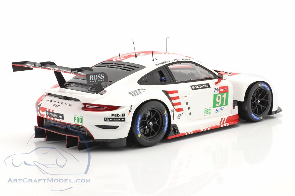Porsche 911 RSR #91 24h LeMans 2020 Bruni, Lietz, Makowiecki
