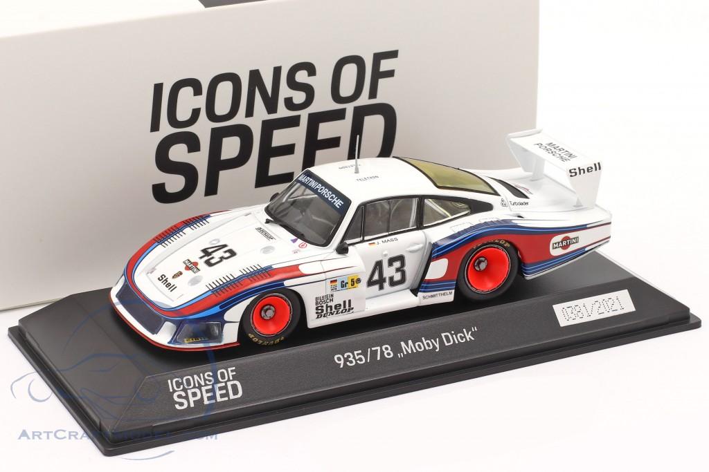 Porsche 935/78 Moby Dick #43 8th 24h LeMans 1978 Schurti, Stommelen