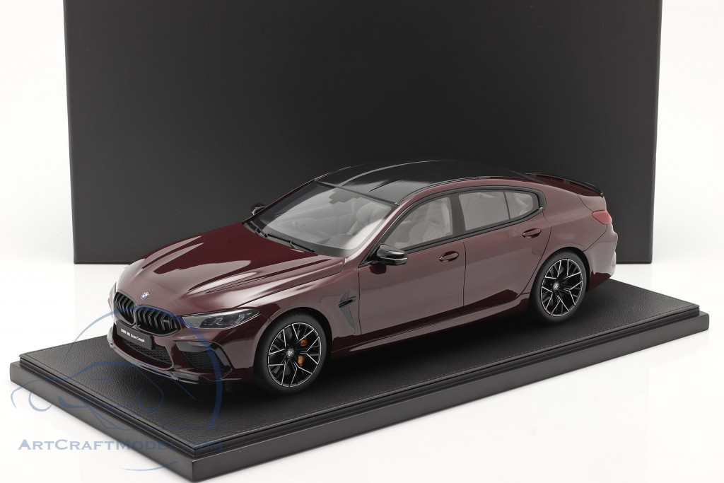 BMW M8 Gran Coupe year 2020 ametrin red metallic