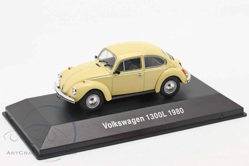 Volkswagen VW Beetle 1300L year 1980 light yellow