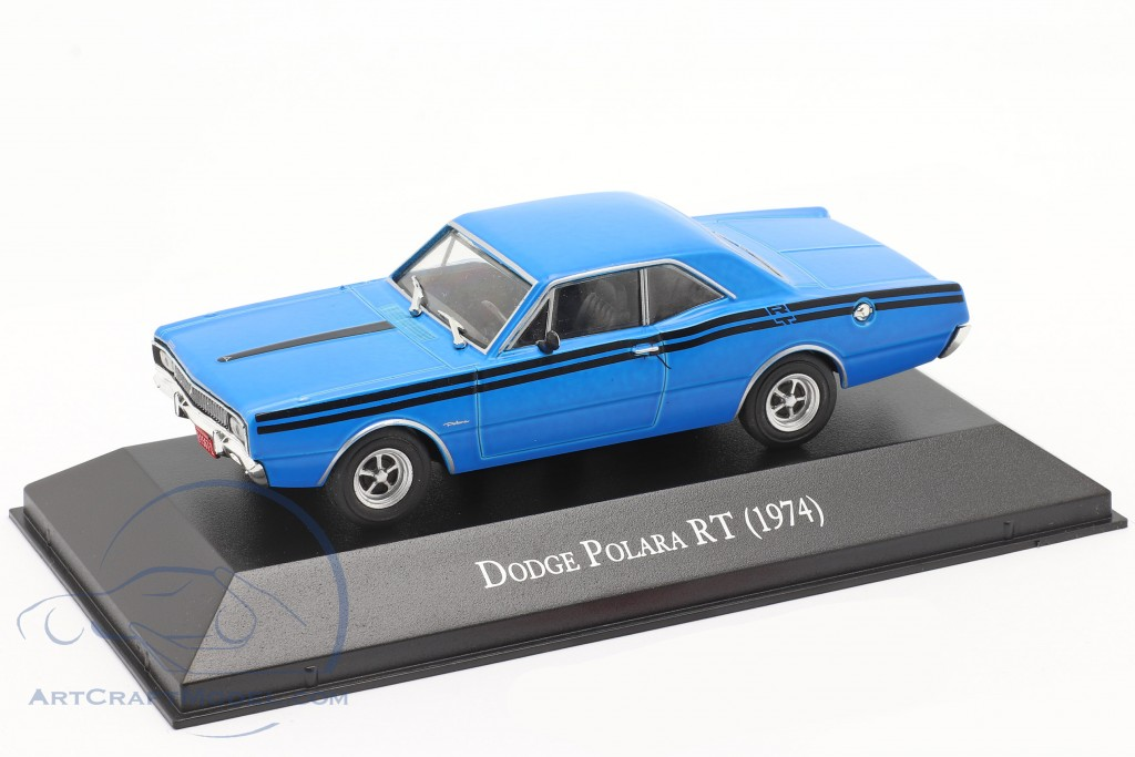 Dodge Polara RT year 1974 blue
