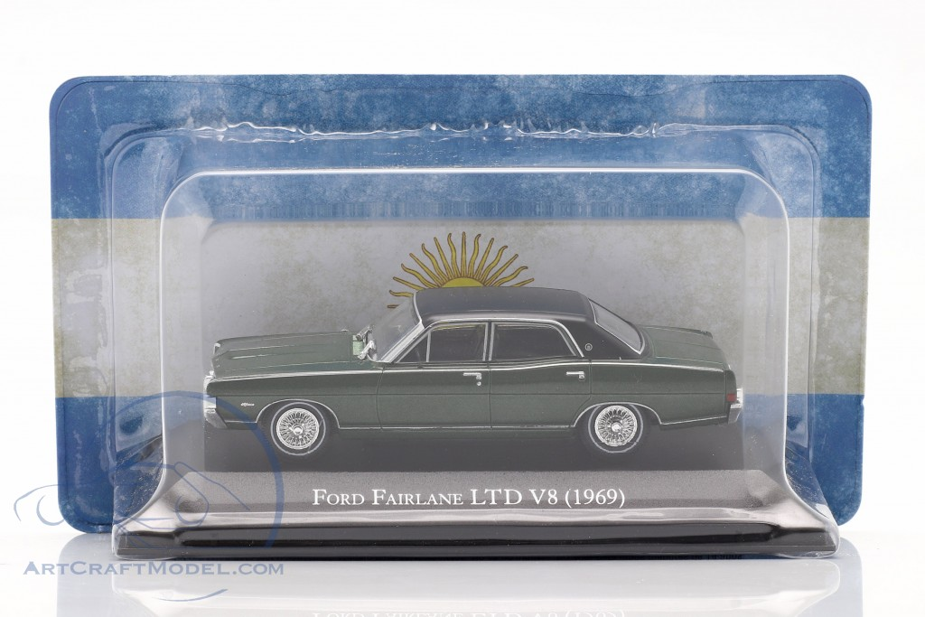 Ford Fairlane LTD V8 year 1969 dark green