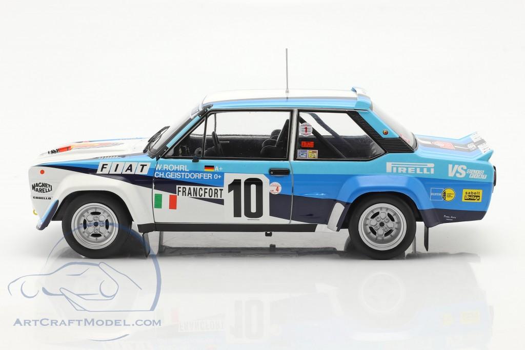 Fiat 131 Abarth #10 winner Rallye Monte Carlo 1980 Röhrl, Geistdörfer