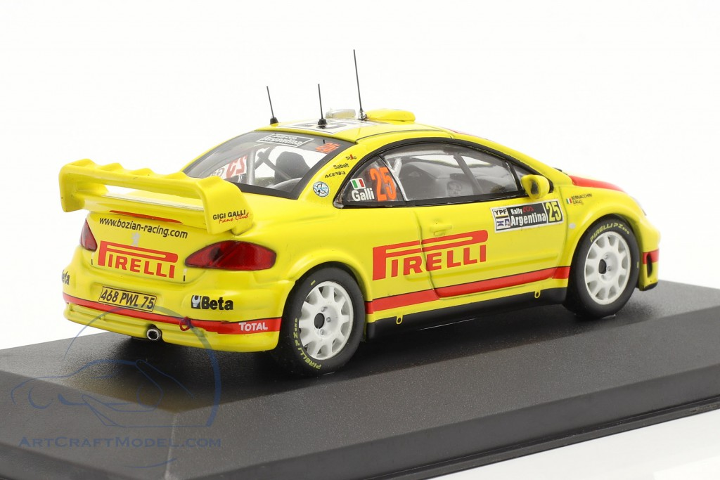 Peugeot 307 WRC #25 Rally Argentina 2006