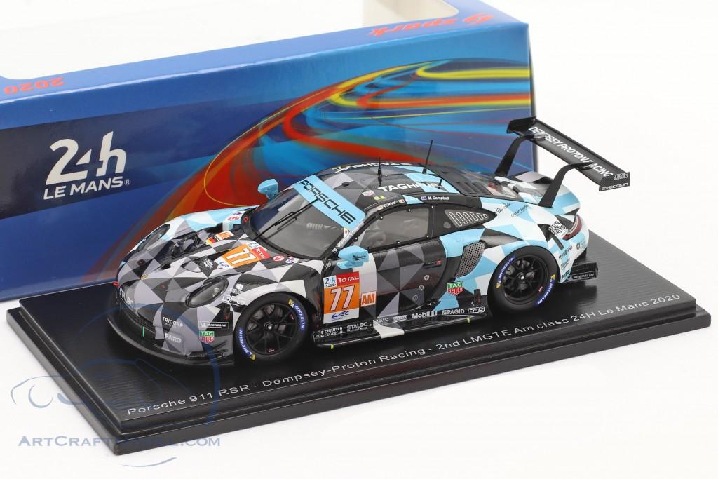 Porsche 911 RSR #77 2nd LMGTE-Am 24h LeMans 2020 Dempsey-Proton Racing