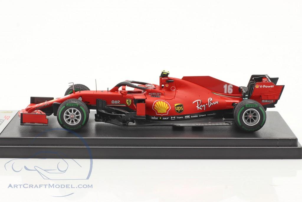 Charles Leclerc Ferrari SF1000 #16 4th Turkish GP formula 1 2020