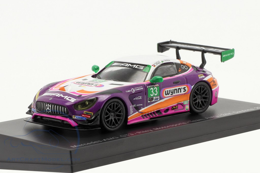 Mercedes-Benz AMG GT3 #33 24h Daytona 2019 Riley Motorsports Team AMG